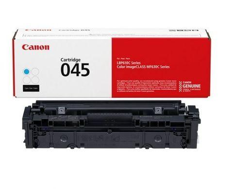 Тонер-картридж Canon Cartridge 045 C голубой (1300 стр) 1241C002