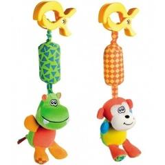 Canpol Мягкая игрушка-подвеска с колокольчиком