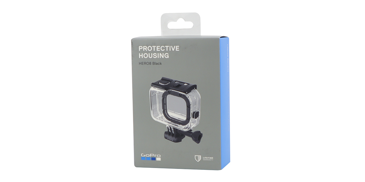 Водонепроницаемый бокс для камеры HERO8 GoPro Dive Housing (AJDIV-001) упаковка