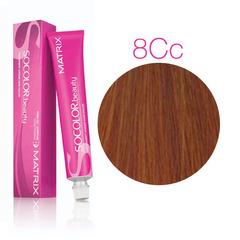 Matrix Socolor Beauty 8CC светлый блондин глубокий медный, стойкая крем-краска для волос 90 мл
