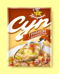 """Суп """"Приправыч"""" грибной с вермишелью 60 г"""