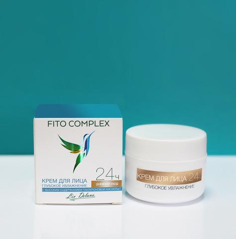 Liv delano Fito Complex Крем для лица глубокое увлажнение 24 ч дневной 45г