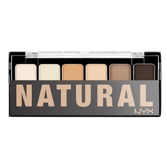 NYX Палитра теней THE NATURAL SHADOW PALETTE