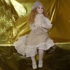 Кукла фарфоровая коллекционная Marigio Селестина