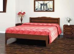 Кровать из массива Карина-7 (1200) орех