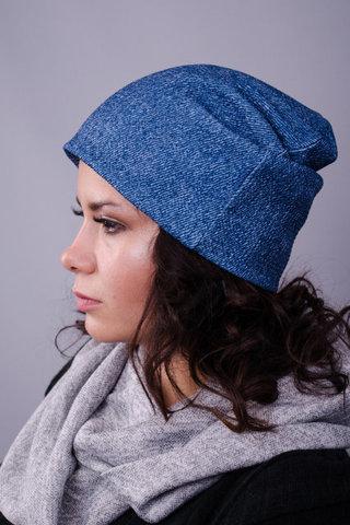 Фэшн. Молодёжные женские шапки. Джинс.