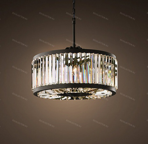 WELLES CLEAR CRYSTAL ROUND Restoration Hardware 68060842