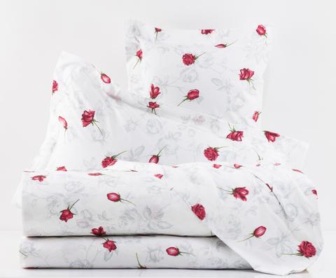 Постельное белье 2 спальное Mirabello Baccarat белое