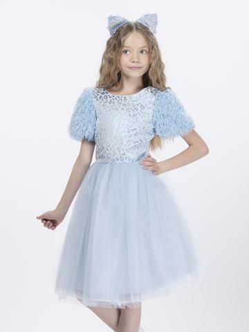 Нарядное платье для девочки (арт.29023)