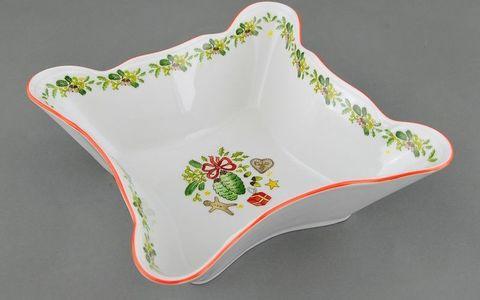 Салатник квадратный 20 см Мэри-Энн Leander