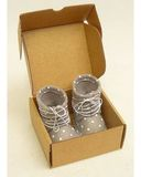 Сапожки из фетра со шнуровкой - Упаковано. Одежда для кукол, пупсов и мягких игрушек.