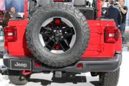 Бампер задний для Rubicon Mopar 82215342 для Jeep Wrangler 2018 - внедорожник bruder jeep wrangler unlimited rubicon 02 525