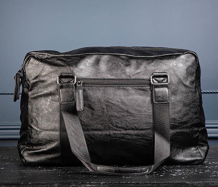 BAG544 Мужская дорожная сумка с ремнем на плечо фото 07