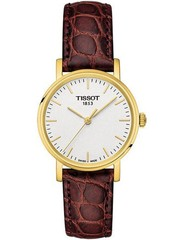 Женские швейцарские наручные часы Tissot T109.210.36.031.00 Everytime Small
