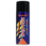 Краска аэрозольная Barton's Spray Paint ЧЕРНАЯ глянец RAL9005 520 мл (16шт/кор)