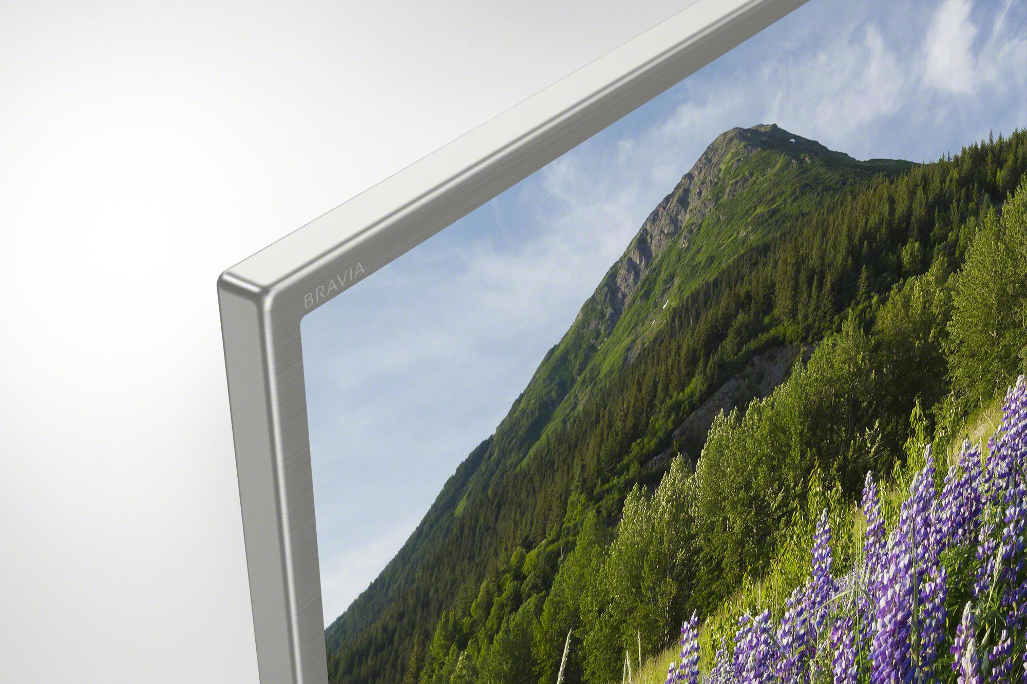 Телевизор Sony Bravia KD-49XF7077, цвет серебристый