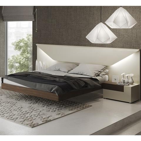 Кровать Garcia Sabate ELENA песочный/орех