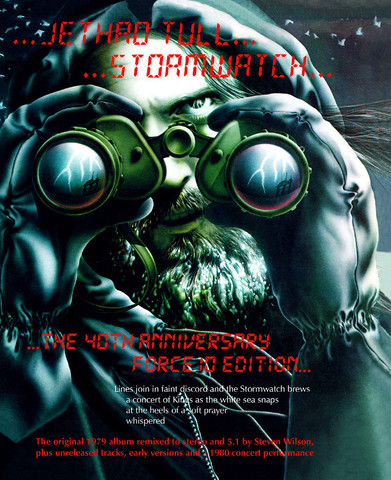 Jethro Tull / Stormwatch (The 40th Anniversary Force 10 Edition)(4CD+2DVD Audio)