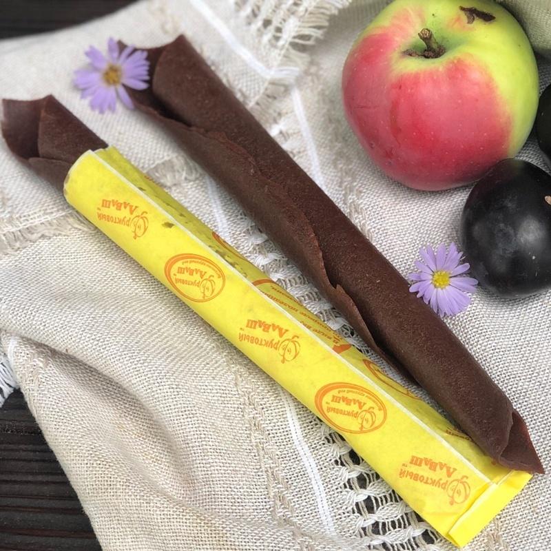Фотография Пастила натуральная яблочно-вишневая 35 грамм купить в магазине Афлора