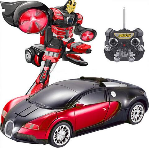 Радиоуправляемый робот-трансформер Robone TT663 Bugatti