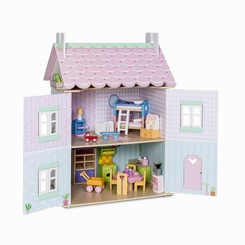 Кукольный домик Нежные сердечки, 32 эл. мебели, Le Toy Van