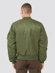 Куртка бомбер Alpha Industries MA-1 Slim Fit/European Sage Green