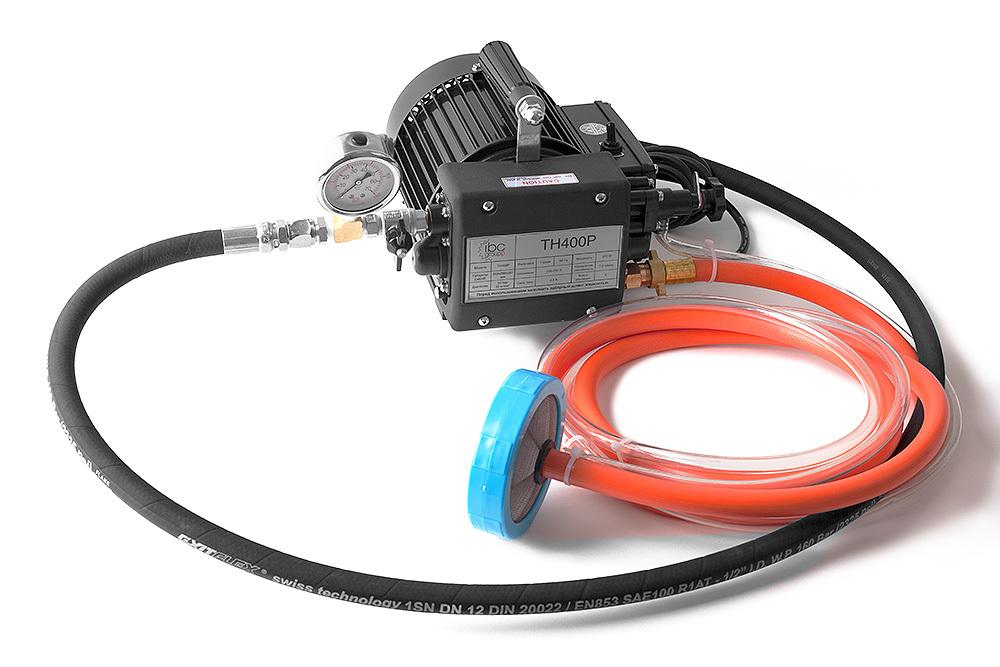 Электрический опрессовочный насос TH400P MESSER