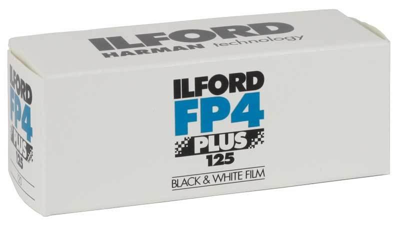 Фотопленка Ilford FP4 Plus 125/120Копировать товар