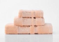 Emily-4  персиковое махровое  полотенце Valtery