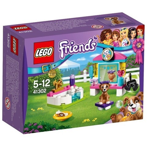 LEGO Friends: Выставка щенков: Салон красоты 41302 — Puppy Pampering