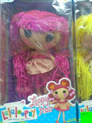 Кукла  Lalaloopsy Loopy Hair с розовыми волосами