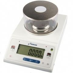 Лабораторные весы ДЭМКОМ DL-63 с гирей