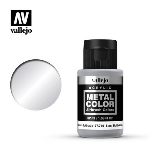 Metal Color Semi Mate Aluminium 32ml.