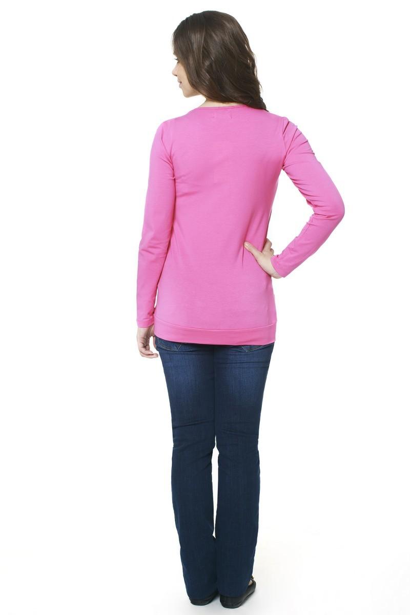 Блузка 07373 розовый