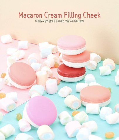 It's Skin Macaron Cream Filling Cheek Кремовые румяна
