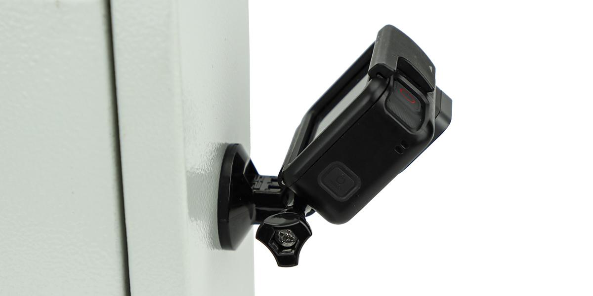 Магнитное крепление SP Magnet mount с камерой сбоку