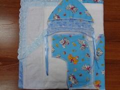 Комплект для новорожденного 8 пр.(уголок простой)