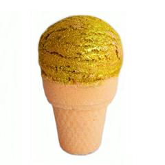 Шар-мороженое для ванн Голд дрим, 180g ТМ Мыловаров