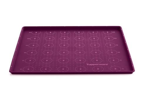 Силиконовый противень в фиолетовом цвете