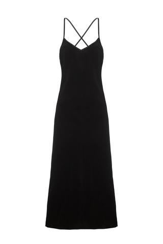Платье - Комбинация Ночь