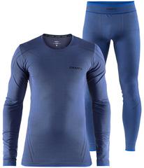 Комплект термобелья Craft Active Comfort Blue мужской