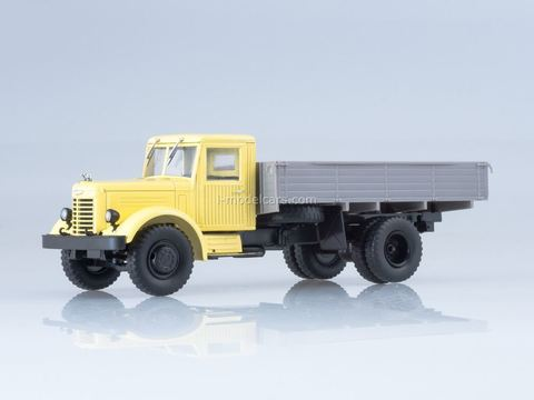 YaAZ-200 flatbed truck beige-gray 1:43 Our Trucks #13