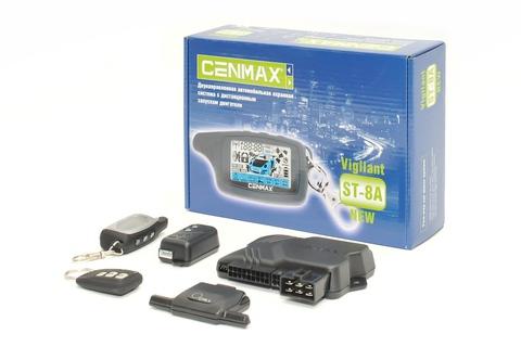 Автомобильная сигнализация Cenmax Vigilant ST-8A