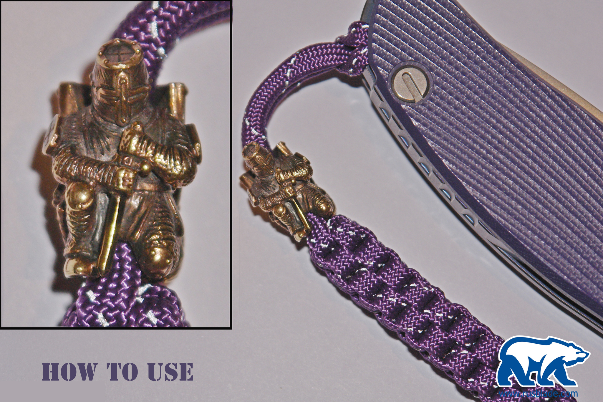 "Custom Sword Knot ""Stalkers skull"" Limited Edition"