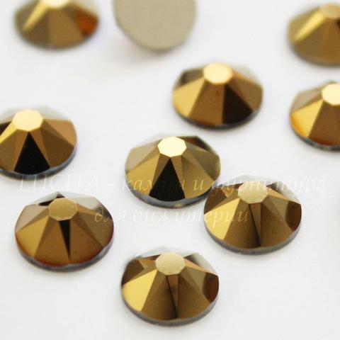 2088 Стразы Сваровски холодной фиксации Crystal Dorado ss 34 (7,07-7,27 мм)