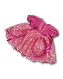 Платье из тафты - Розовый. Одежда для кукол, пупсов и мягких игрушек.