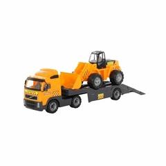 "Автомобиль-трейлер + трактор-погрузчик ""Volvo"""