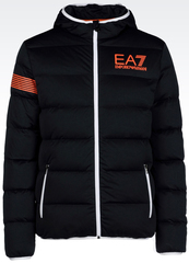 ПУХОВИК FULL ZIP 7COLOURS LINE EA7