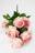 Букет роз бочонком