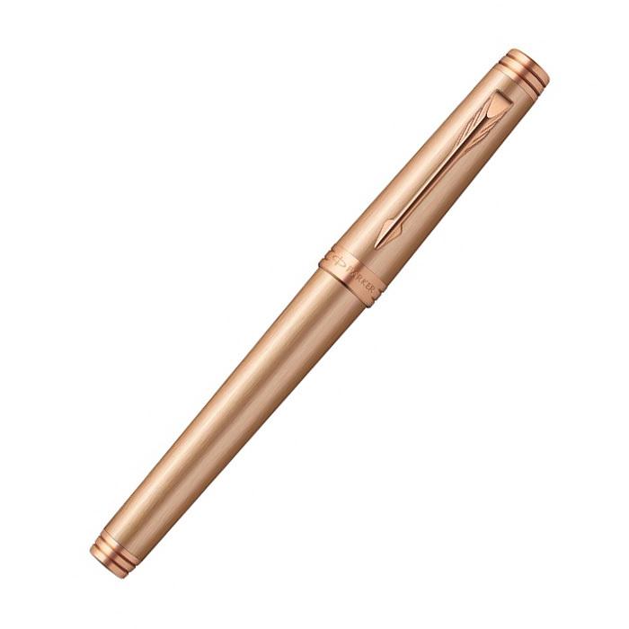 Parker Premier - Monochrome Pink Gold PVD, ручка-роллер, F, BL